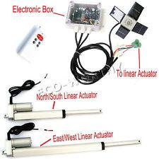 1pcs Controller Dual Axis Solar Tracker & 2 pcs Linear Actuator DIY Sun Tracking