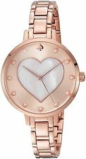 KATE SPADE New York Women's Rose Gold Mother of Pearl Watch KSW1216 34MM $225.00