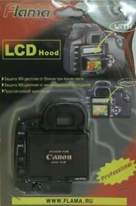 Pop-Up Shade LCD Screen Hood Cover for Canon EOS-30D