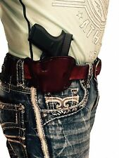 NEW Brown Leather Gun Holster For Glock 43