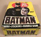 1989+Batman+Movie+Series+2+Trading+Card+Box%2C+36+Sealed+Packs