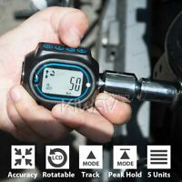 """Digital Torque Wrench Adapter for 1/2"""" 3/8"""" 1/4"""" Drive Socket Light Indication"""