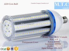 LED Corn Light Bulb 60W, Luminous-6600lm,6000K Cool White with E39/E40 Holder