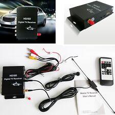 DC12V HD/SD Digital TV Receiver  Mobile Car TV Box 4 Video 2 Audio Output For US