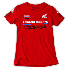 Troy Lee Designs TLD Team Honda Women's T-Shirt Red Women's Size Large L NWT