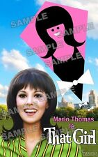THAT GIRL Marlo Thomas Fan Made Poster Print 11 X 17