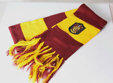 Harry Potter Gryffindor Thicken Wool Knit Scarf Wrap Soft Warm Yellow-brown Gift