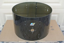 "ADD this 1970's Ludwig 22"" SMOKE VISTALITE BASS DRUM SHELL to YOUR DRUM SET A590"