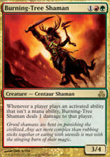 MTG magic cards 1x x1 Light Play, English Burning-Tree Shaman Guildpact
