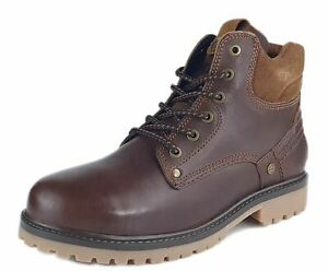 Wrangler Yuma Lace Up Mens Boots  Brier Brown