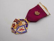 More details for vintage steward r. m. b. i 1984 enamel medal. free uk p&p