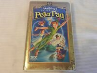 Peter Pan (VHS, 1998, 45th Anniversary Limited Edition) Clam Shell