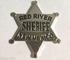 Red River, New Mexico Sheriff's, mini-badge , Souvenir Police Pin