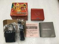 Nintendo GAMEBOY ADVANCE SP Charizard Limited Edition Console w/Box Pokemon