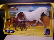 Breyer Horse 2017 Fantasia Del C & Gozosa Andalusian Mare & Foal - #1777 In Stoc