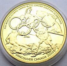 POLAND 1 DUKAT OLIMPIJSKI 2010 - CANADA VANCOUVER OLYMPIC GAMES SPORT IN CAPSULE