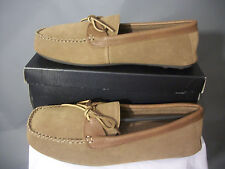 L.B. Evans DYLAN Hashbrown Indoor/Out Slipper Moc Size 13 M Terry Lining NIB