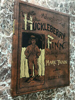 Adventures of Huckleberry Finn by Mark Twain, Facsimile of First Edition