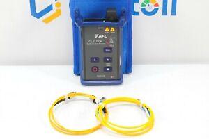 AFL Noyes OLS2 Dual SM Dual Fiber Optic Laser Light Source w/ WaveID LS2D OLS 2