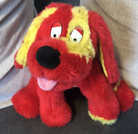 1999 Hasbro TWEENIES Talking Doodles the Dog Red Yellow Soft Plush Toy -untested