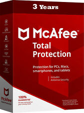 McAfee Total Protection Unlimited Devices for 3 Years (New or Renewal)