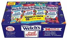Welch's Variety Pack Fruit Snacks, 36 Count (Pack of 1)
