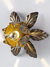 heine home Wandleuchte , antikbraun , H/Ø ca. 14,5/30 cm , Blütenblätterdessing