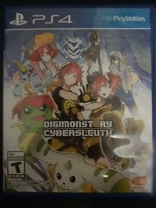 Digimon Story: Cyber Sleuth PS4 (Sony PlayStation 4, 2016)