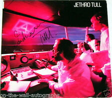 JETHRO TULL IAN ANDERSON HAND SIGNED AUTOGRAPHED A ALBUM! EXACT PROOF + C.O.A.!