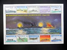 SOLOMON ISLANDS Wholesale 1992 World War II - $8 M/Sheet x 50 SEE BELOW...FP1096