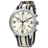 Brooklyn Watch Co. Bedford Brownstone II Chronograph Quartz Men's Watch