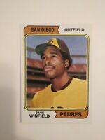 Dave Winfield 1974 Topps Baseball Rookie Card #456 RC