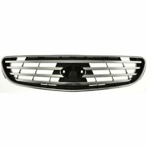 Front Grille Dark Gray fits 2002 2003 2004 Infiniti I35