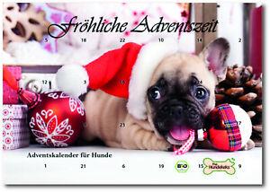 the Hundekeks Bio Hunde-Adventskalender 120g   Plastikfrei