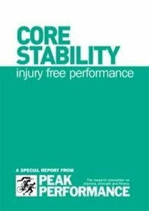 Core Stability injury free performance spiral bound book