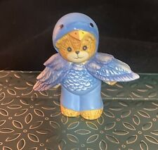 Enesco 1992 Lucy & Me Lucy Rigg Blue Bird / Blue Jay Costume Bear
