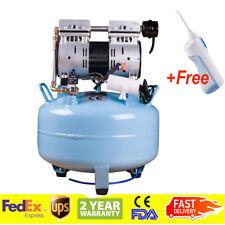 Medical Dental Air Compressor Silent Noiseless Oilless Oill USA STOCK FDA CE