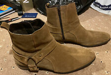 Topman Brown Boots - Size 10 - Used And Unboxed