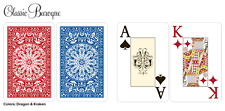 Desjgn 100% Plastic Playing Cards, Bridge Size / Jumbo Index New 1 Set