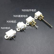 J068 White Plastic Motor Holder for N20/N30 Micro DC Motor DIY Model Parts