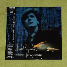DAVID SYLVIAN Preparations For A Journey - RARE 1988 JAPAN LASERDISC + OBI
