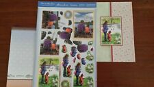 Hunkdory - Boys Day Out&Feeding the Ducks-Die Cut Topper Sheet & Backing Cards