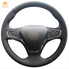 Black Artificial Leather Steering Wheel Cover for Chevrolet Cruze 2015 Volt