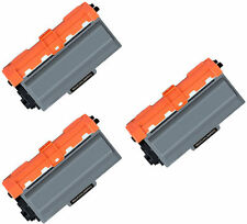 3 x Compatible NON-OEM TN3330 Black Toner Cartridge For Brother MFC-8510DN