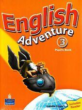 Longman ENGLISH ADVENTURE 3 Pupil's Book w Reader I Izabella Hearn @NEW & SEALED