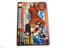 Animal Kaiser Evolution Evo Version 5 Super Rare (A102EP: Saber-toothed Tiger)