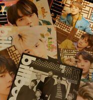 Billboard Magazine + Poster BTS Jin Suga J-Hope RM Jimin V Jungkook Taehyung