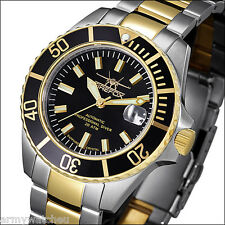 Professional Diver's 200 m Watch Firefox Sea Commander Seiko NH35 Automatic Date
