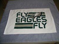 "Philadelphia Eagles ""FLY EAGLES FLY"" NFL Super Bowl Tailgate White Rally Towel"