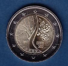 Estonia 2 € Euro Commemorative Coin 2017 - Estonia`s Road to Independence UNC
